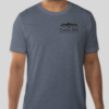 Man in Center Hill Neighborhood Association blue T-Shirt